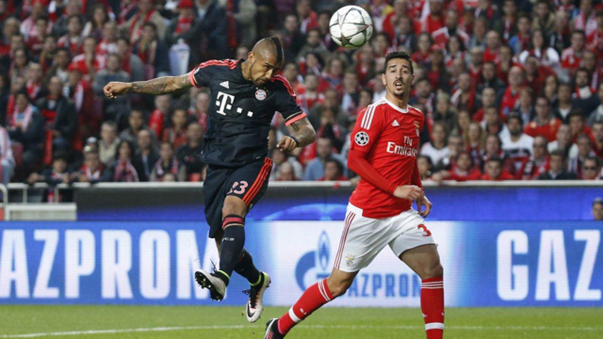 """Prensa alemana destaca que Vidal """"es el corazón del Bayern"""" en esta etapa de la Champions"""