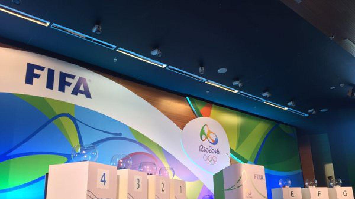 Así quedaron los grupos del fútbol en los Juegos Olímpicos de Río de Janeiro 2016