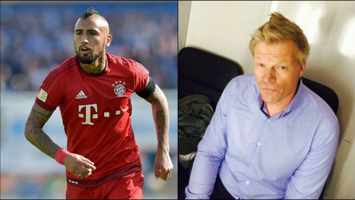 """Arturo Kahn"": el homenaje del ex portero del Bayern al volante chileno"