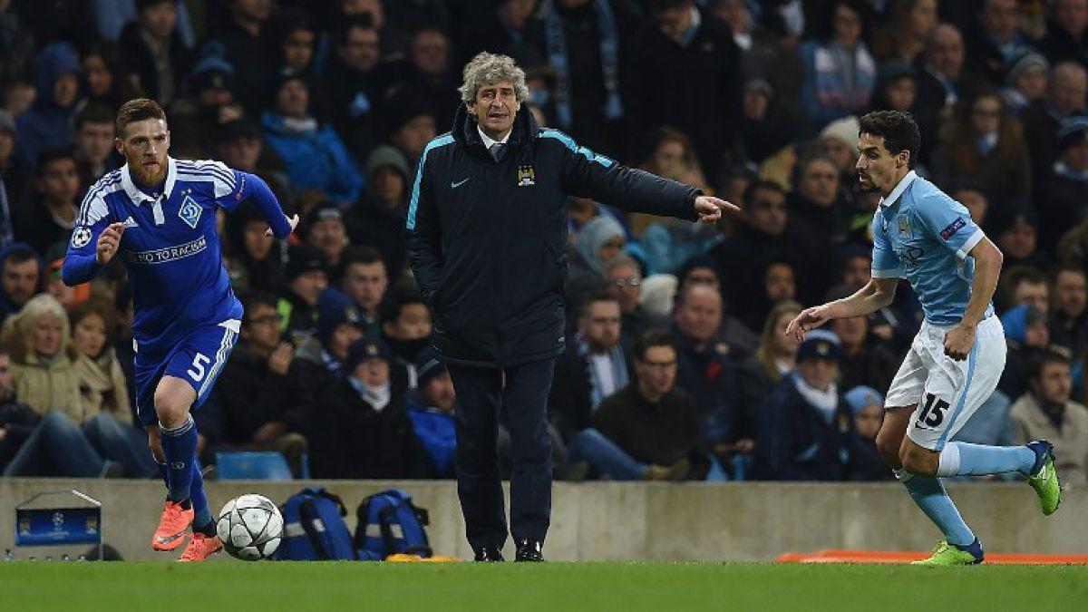 """Jugador del City elogia a Pellegrini: """"Es un entrenador excepcional y se merece lo mejor"""""""