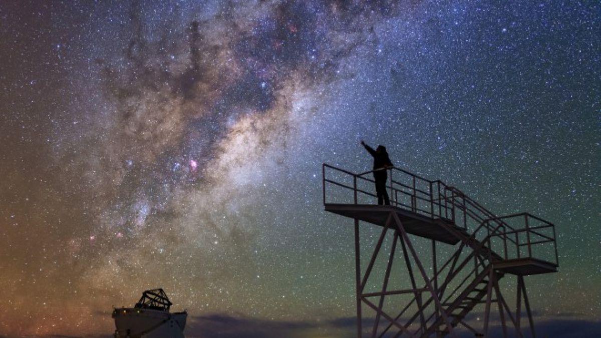 Foto de un Astroturista
