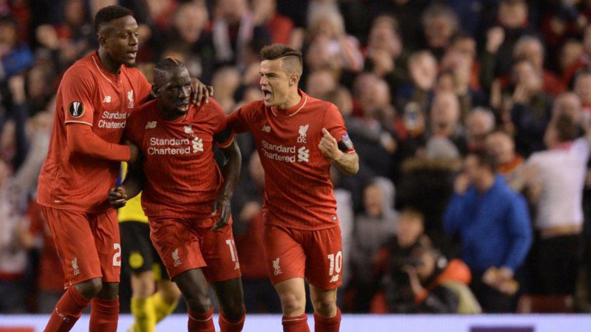 Liverpool vence a Borussia Dortmund y se definen semifinalistas de la Europa League