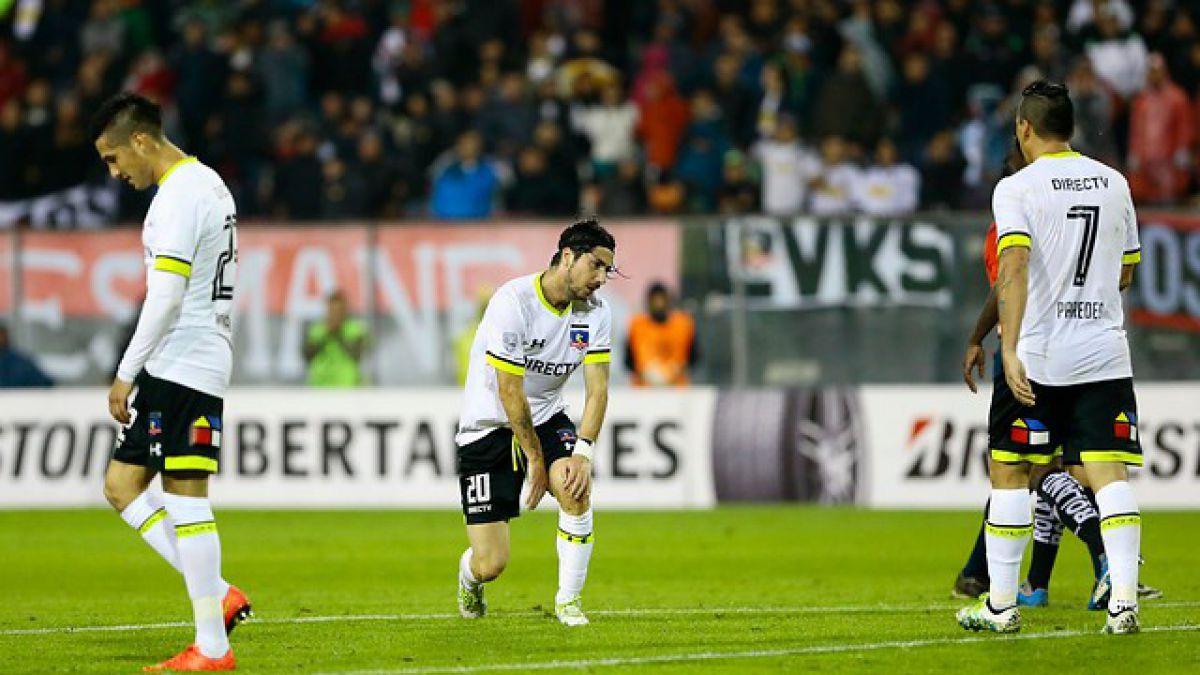 Colo Colo sigue estirando su negativa racha en Copa Libertadores