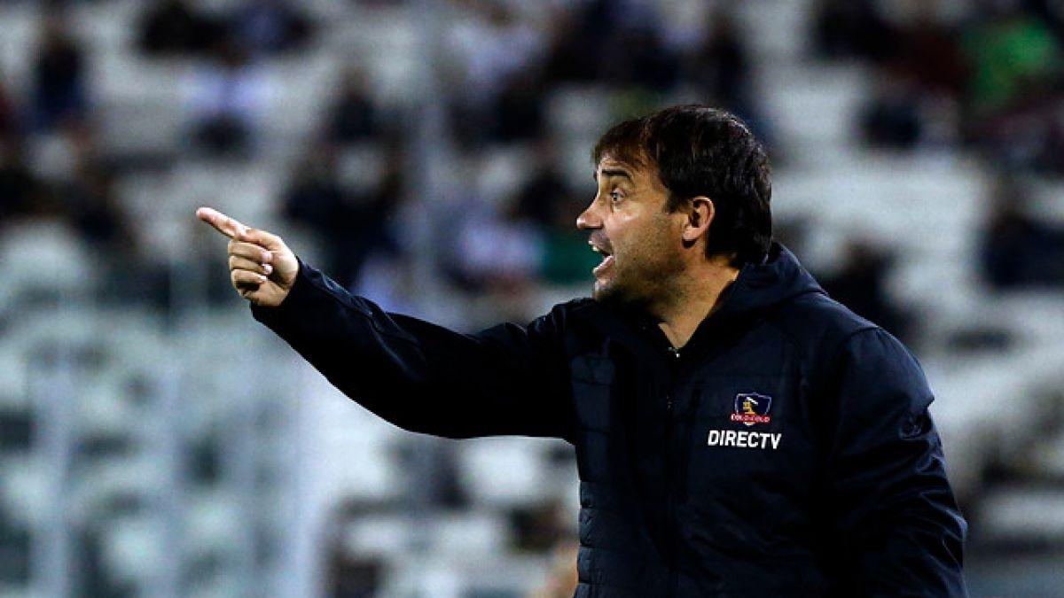 """Sierra y eliminación de Colo Colo: """"Se hizo todo por clasificar, pero no conquistamos el objetivo"""""""