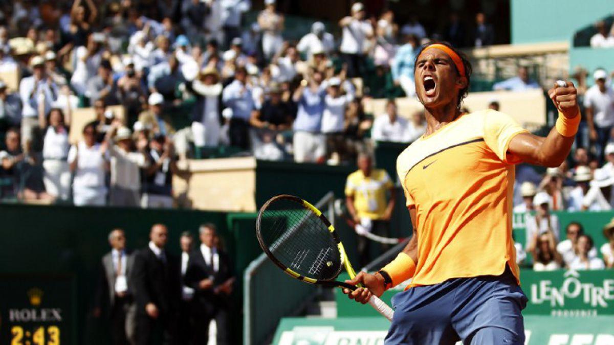 Rafael Nadal vuelve a la final de Masters 1000 Montecarlo tres años después