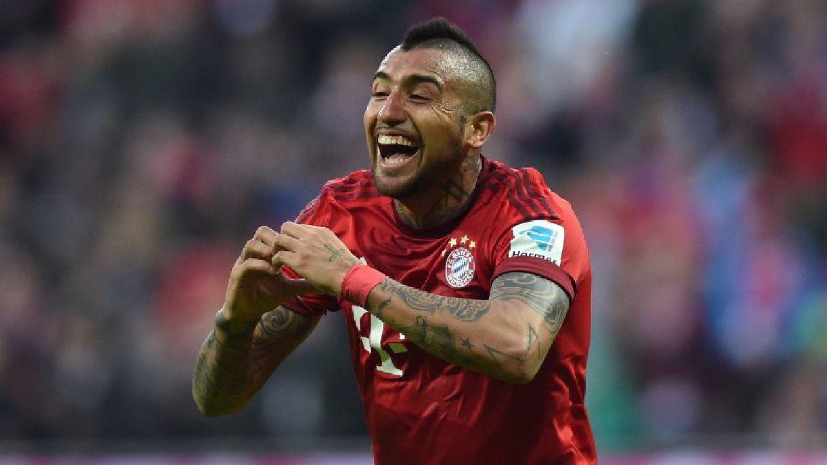 Arturo Vidal inspirado: anota en macizo triunfo del Bayern Munich en la liga