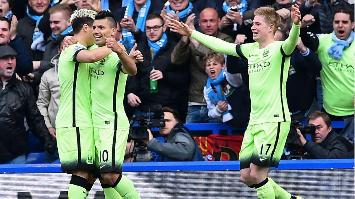 Manchester City de Pellegrini golea a Chelsea y escala en la Premier League
