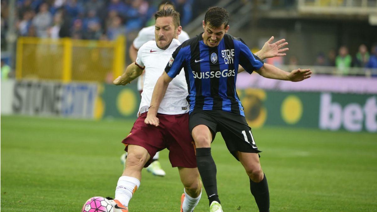 Mauricio Pinilla juega unos minutos en empate de Atalanta frente a Roma