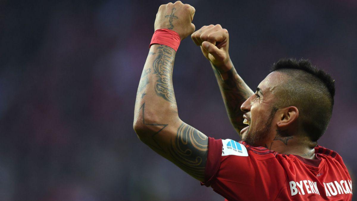 [FOTO] Arturo Vidal comparte su alegría por el buen momento que vive en Bayern Munich