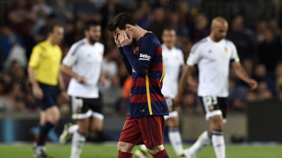Barcelona de Claudio Bravo vuelve a perder y la Liga Española queda al rojo