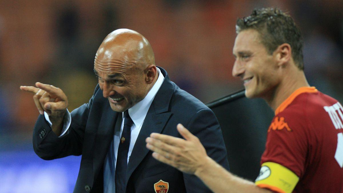DT de la Roma desmiente haberse enfrentado a golpes con Totti