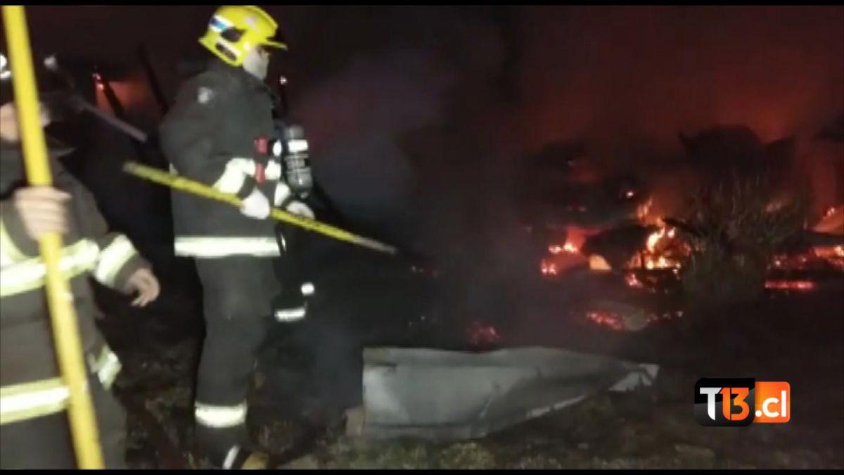 Se registra incendio en centro de investigación de la región del Biobío