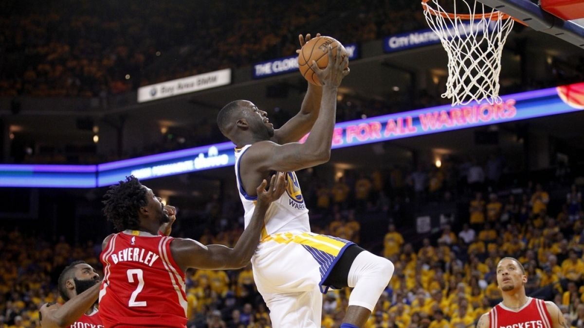Golden State derrota a Houston y pone 2-0 su serie de playoffs en el Oeste