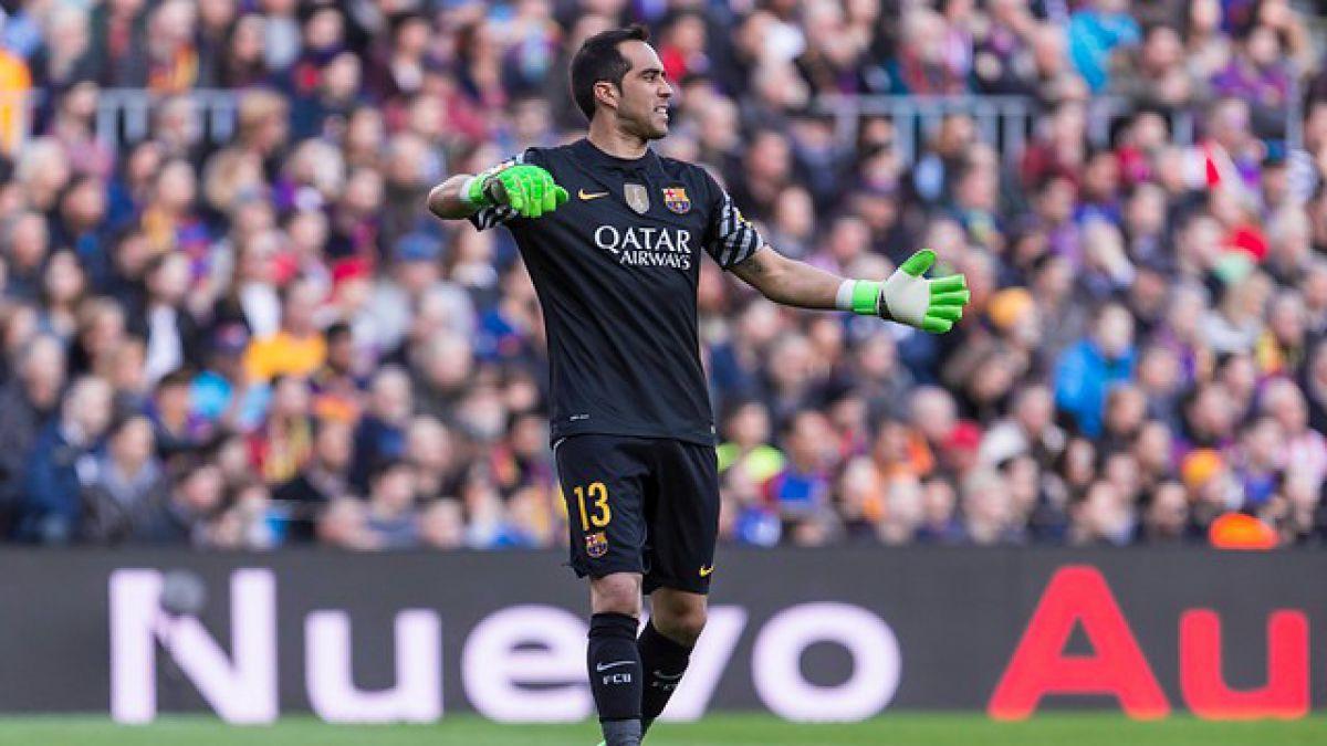 Triunfo del Barcelona se ve empañado por lesión de Bravo en los últimos minutos