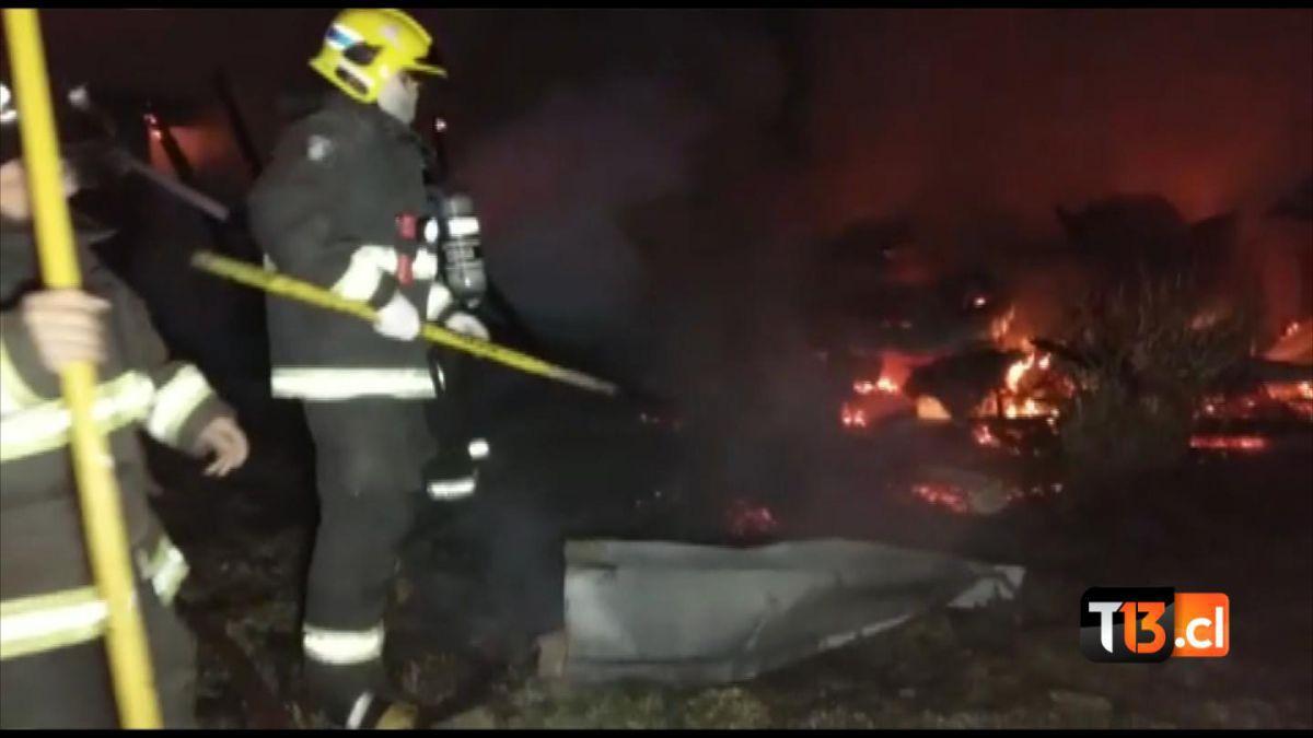 Gobierno invocará ley antiterrorista en querella por incendio de sede universitaria en Cañete