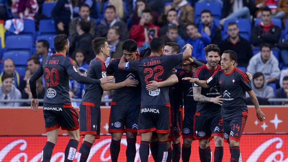 Celta logra valioso empate ante Espanyol con asistencia de Fabián Orellana