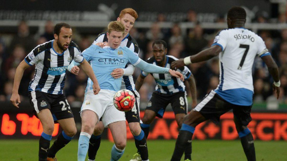 Manchester City de Pellegrini empata y complica al Newcastle
