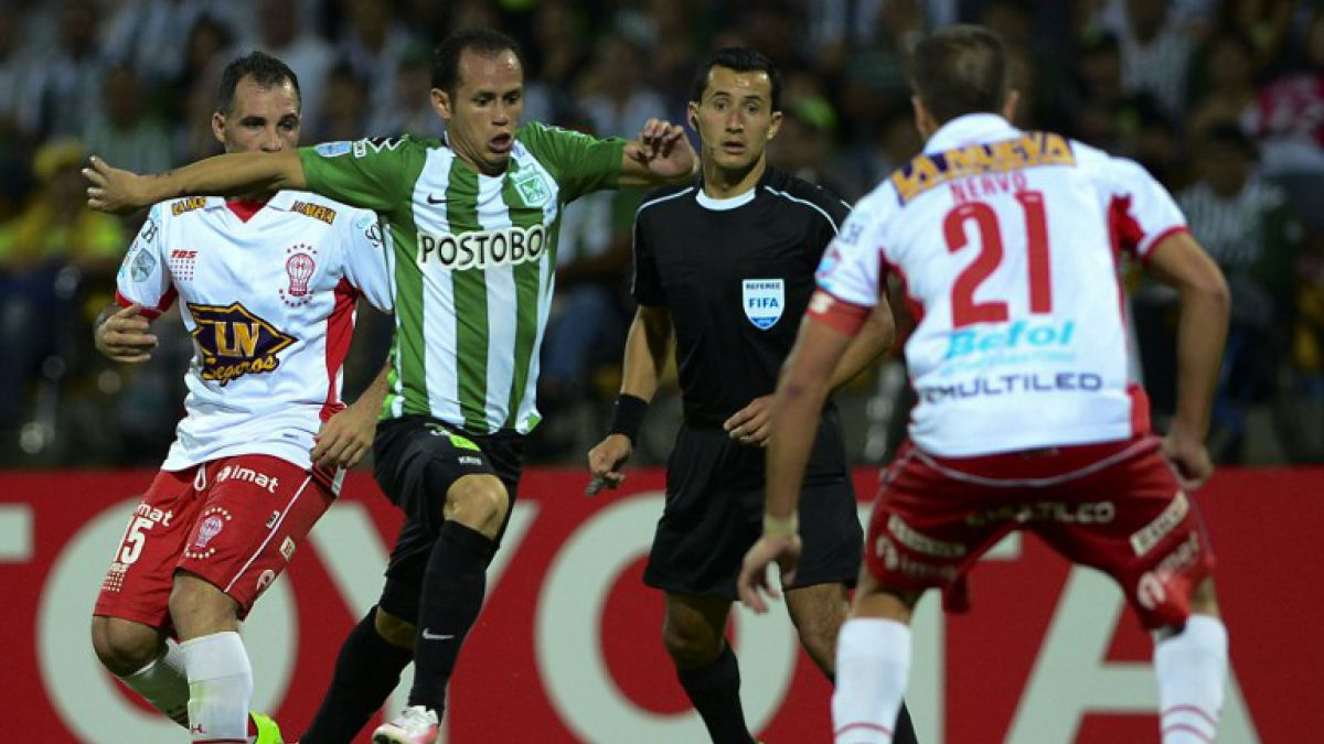 Huracán clasificó a octavos de Libertadores tras trabajado empate en Colombia