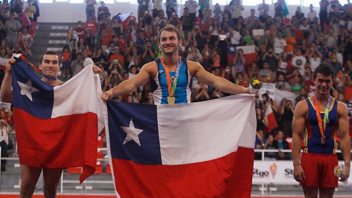 [VIDEO] Gimnasta Tomás González revela el salto que quiere exhibir en Juegos de Río