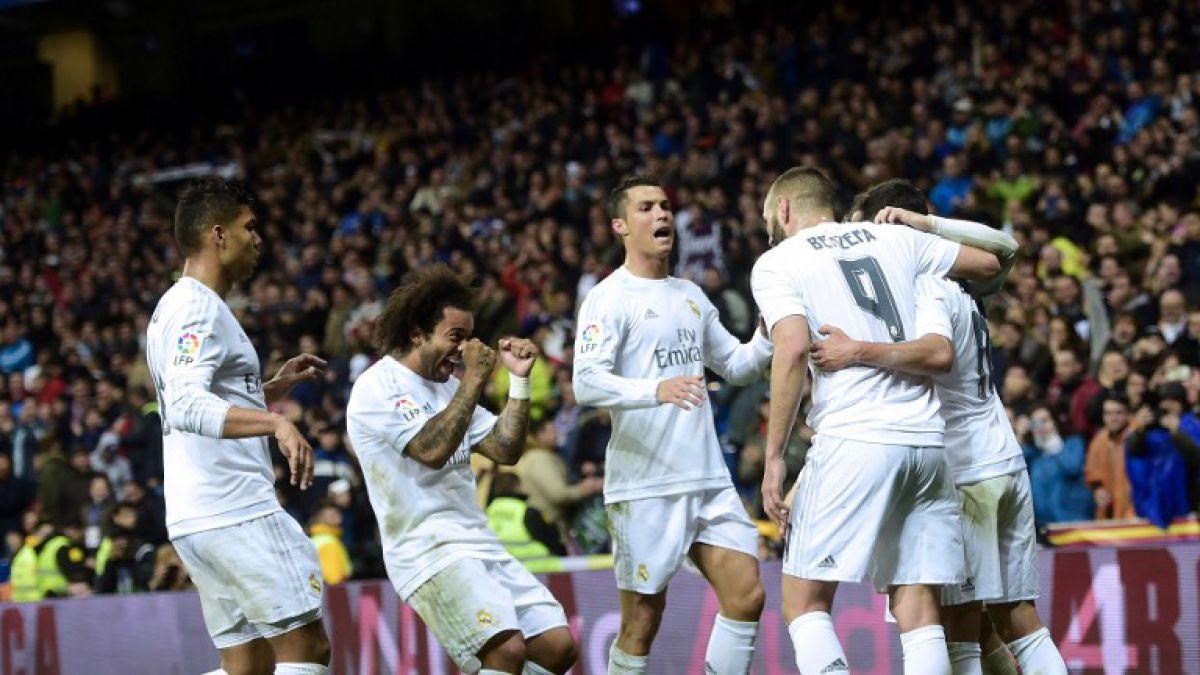Real Madrid y Atlético ganan y siguen al acecho del Barcelona