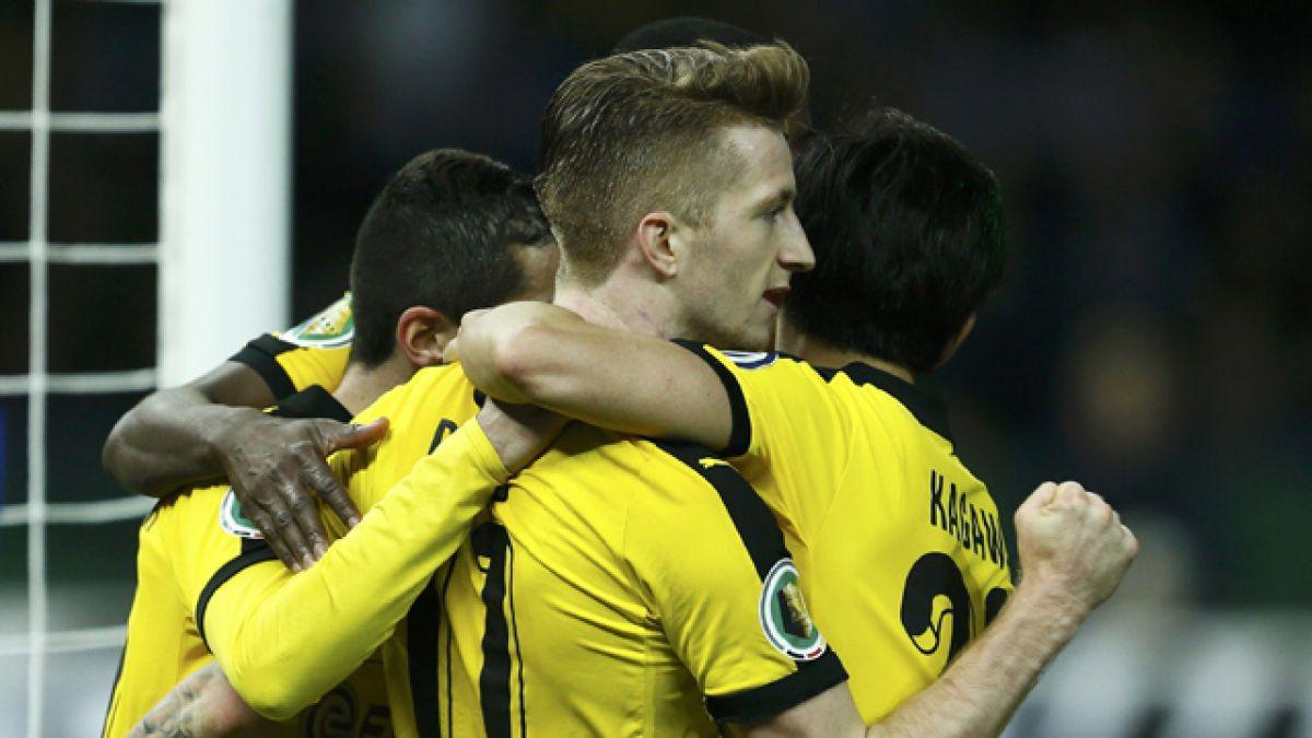 Borussia Dortmund será el rival del Bayern Munich de Vidal en la final de la Copa de Alemania