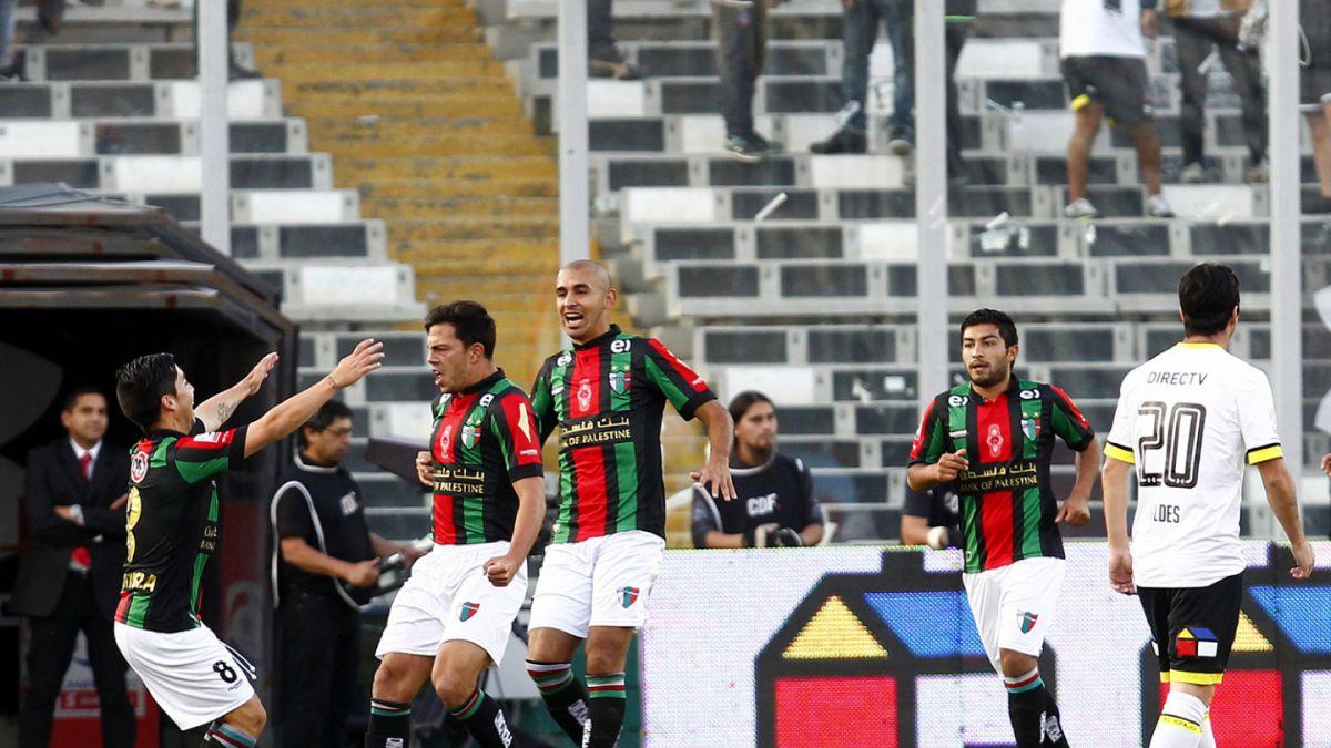 Colo Colo cae con Palestino y acumula cinco partidos sin conocer la victoria