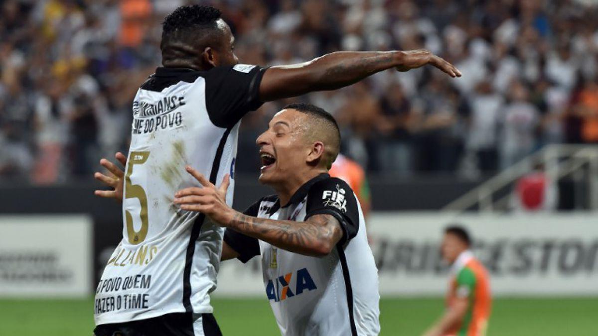 Corinthians despidió a Cobresal de la Libertadores con estrepitosa goleada