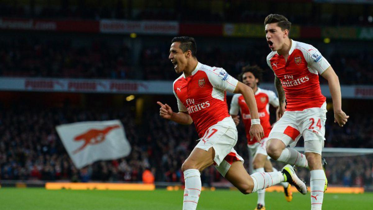 Alexis Sánchez marca un doblete y encumbra al Arsenal a la Champions