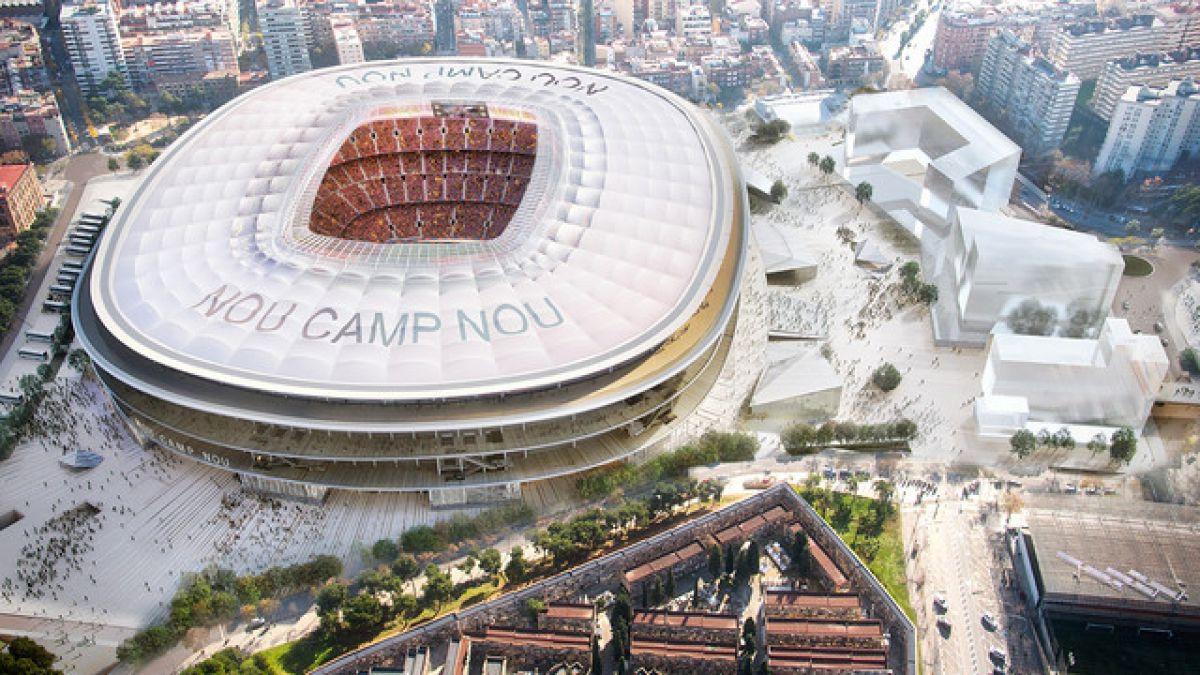 [VIDEO] Un estadio abierto y sin fachada: así será el nuevo Camp Nou