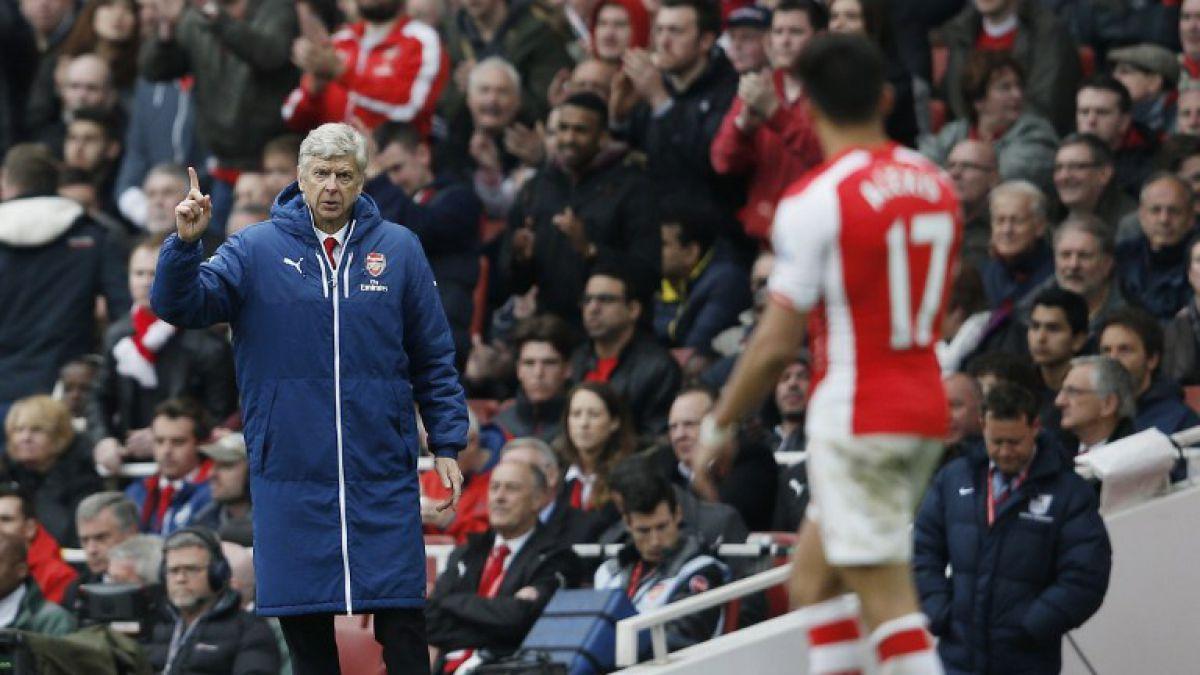 Arsene Wenger elogió a Alexis Sánchez tras doblete: Su contribución fue vital