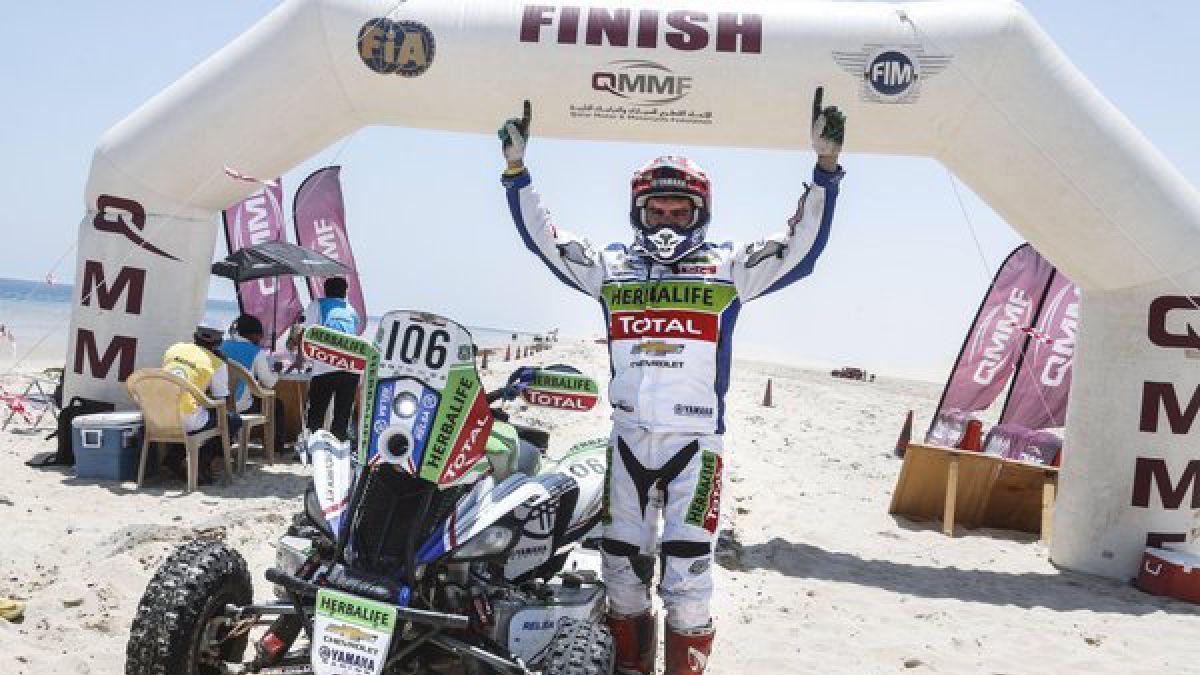 Ignacio Casale gana el Rally de Qatar en quads y Quintanilla es segundo en motos