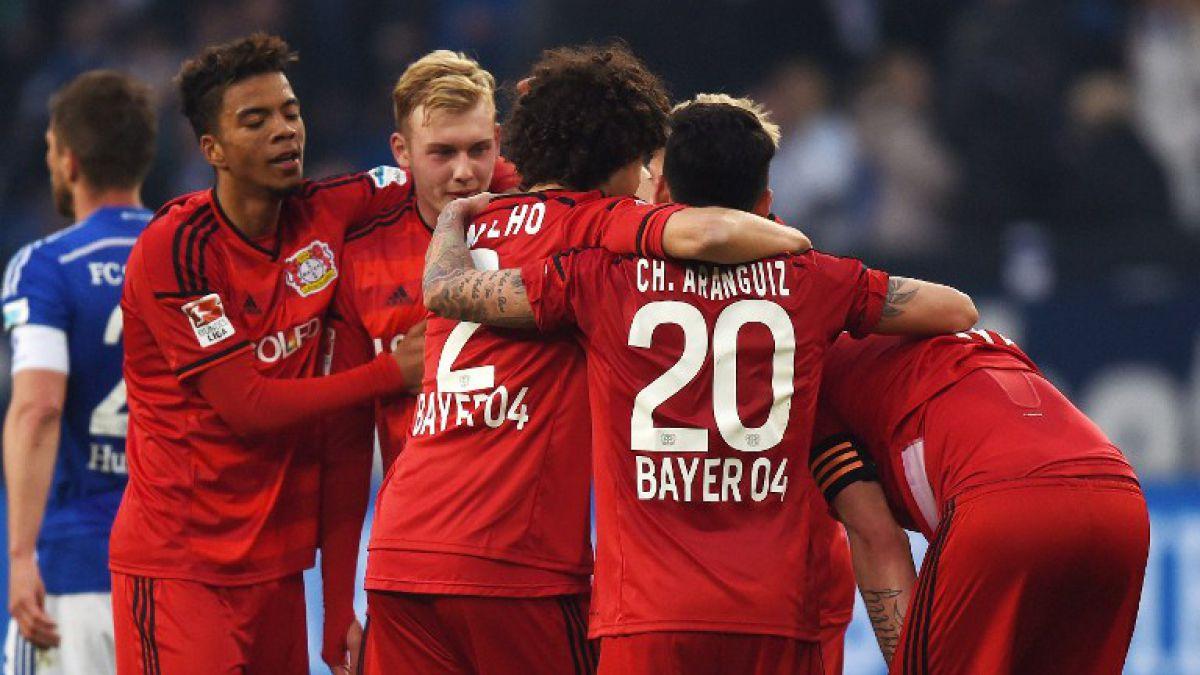 Charles Aránguiz estuvo presente en destacable remontada del Leverkusen