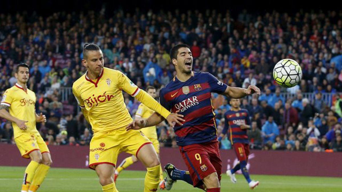 """Barcelona de Bravo golea al Gijón de Lichnovsky y mantiene la lucha por el título al """"rojo vivo"""""""