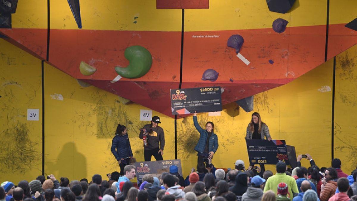 Deportistas internacionales se quedaron con el primer lugar en Master de Boulder