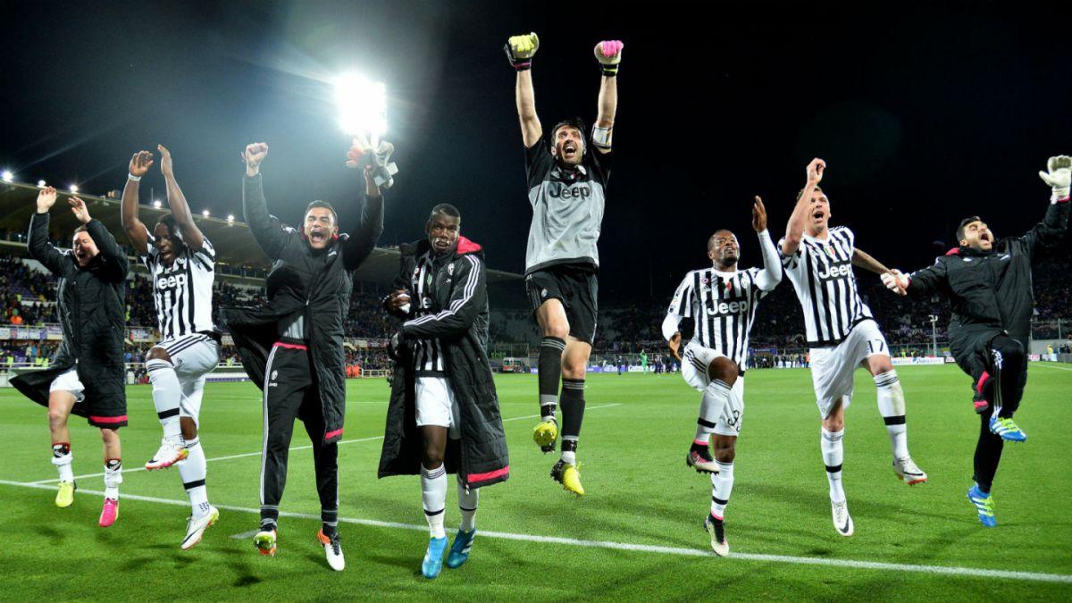 Juventus derrota a Fiorentina de Matías Fernández y queda a un paso del título de la Serie A