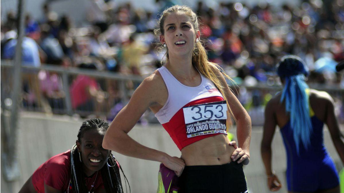 Isidora Jiménez gana dos medallas de oro en campeonato en Colombia