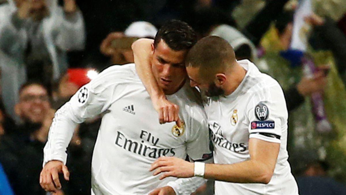 Zidane confirma a Cristiano y Benzema para duelo ante el City por Champions
