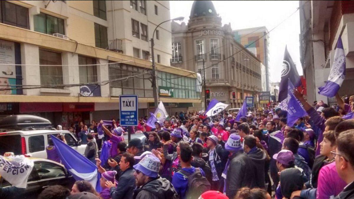 Hinchas de Deportes Concepción realizan campaña para evitar desafiliación del club
