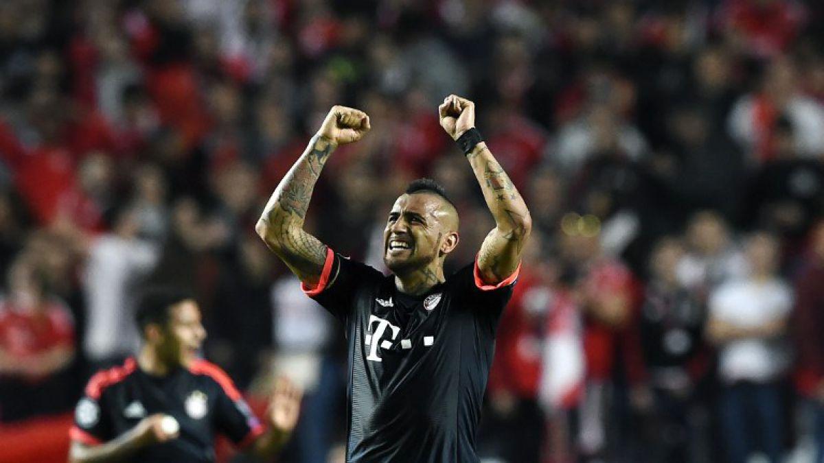 Bayern de Arturo Vidal busca dar el golpe en Madrid ante Atlético por Champions