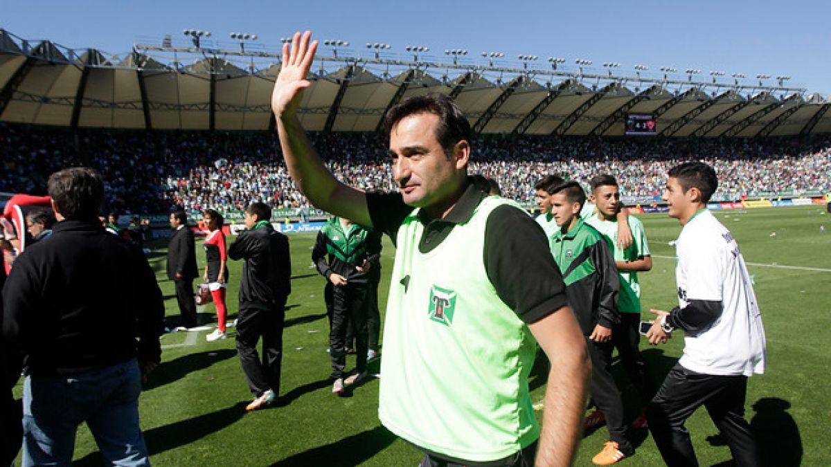 DT Luis Landeros renueva y seguirá a cargo del ascendido Deportes Temuco