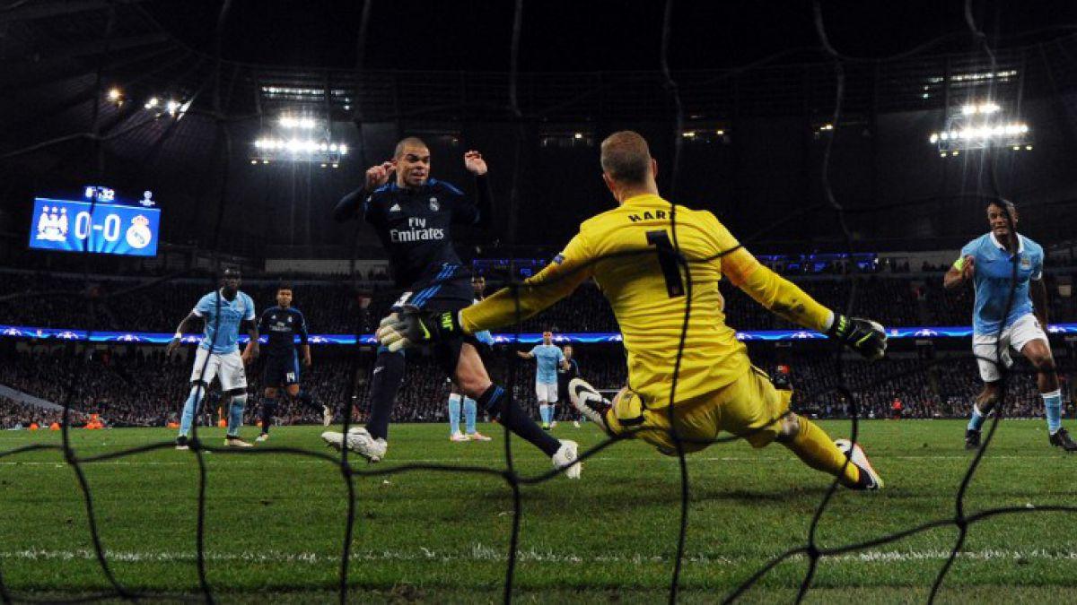[VIDEO] Las tapadas de Hart que evitaron la caída del Manchester City en Champions