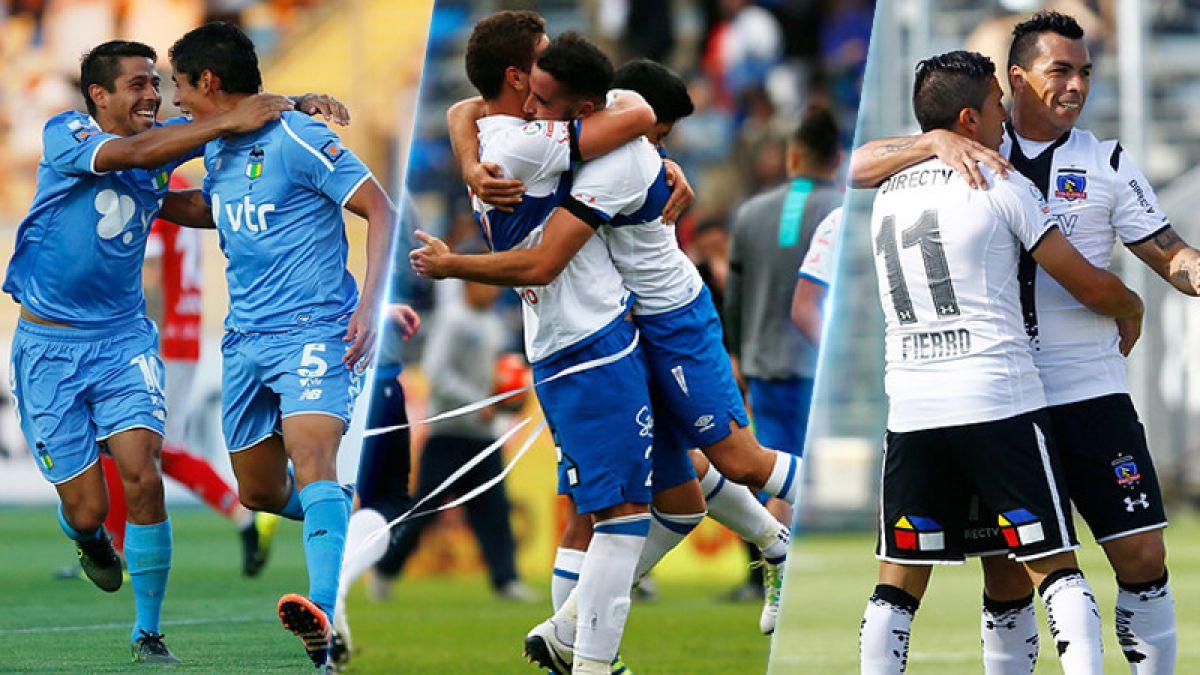 Los cuatro escenarios que pueden definir al campeón del fútbol chileno