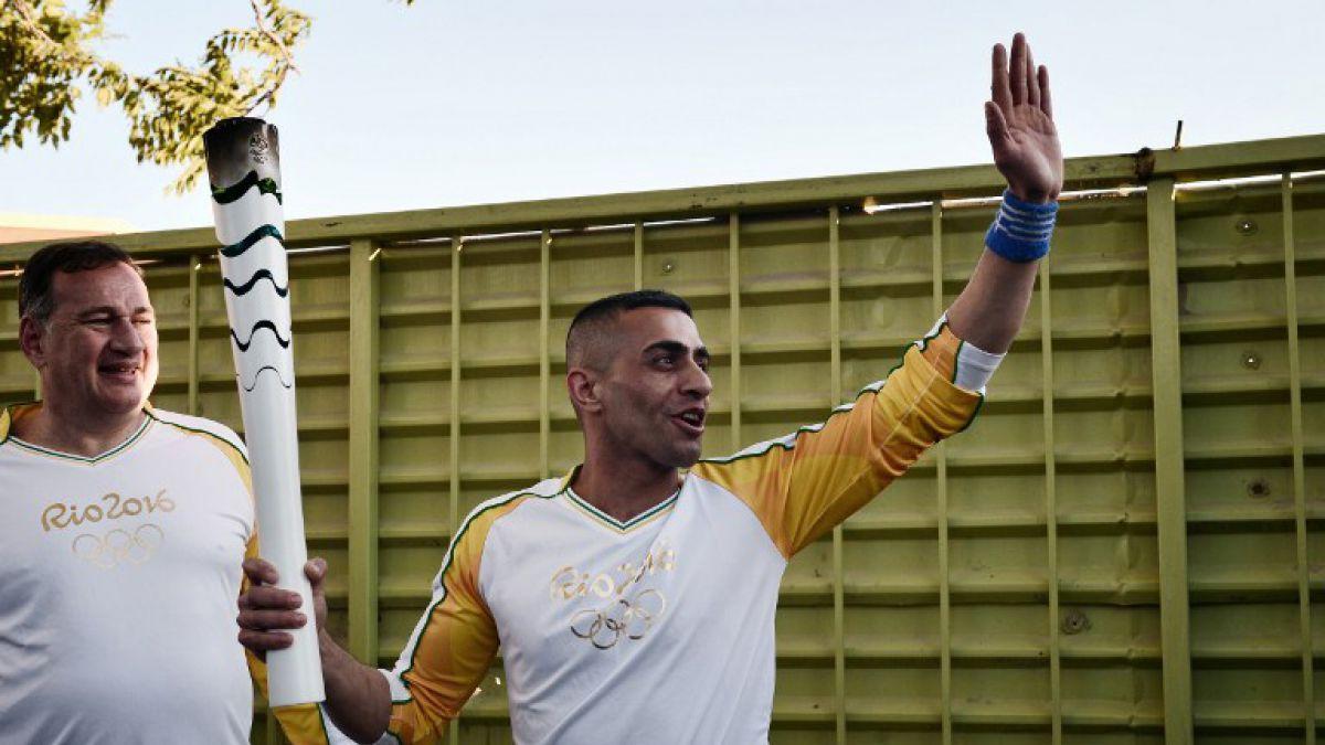 La llama olímpica pasará a manos de Brasil a 100 días del arranque de los juegos