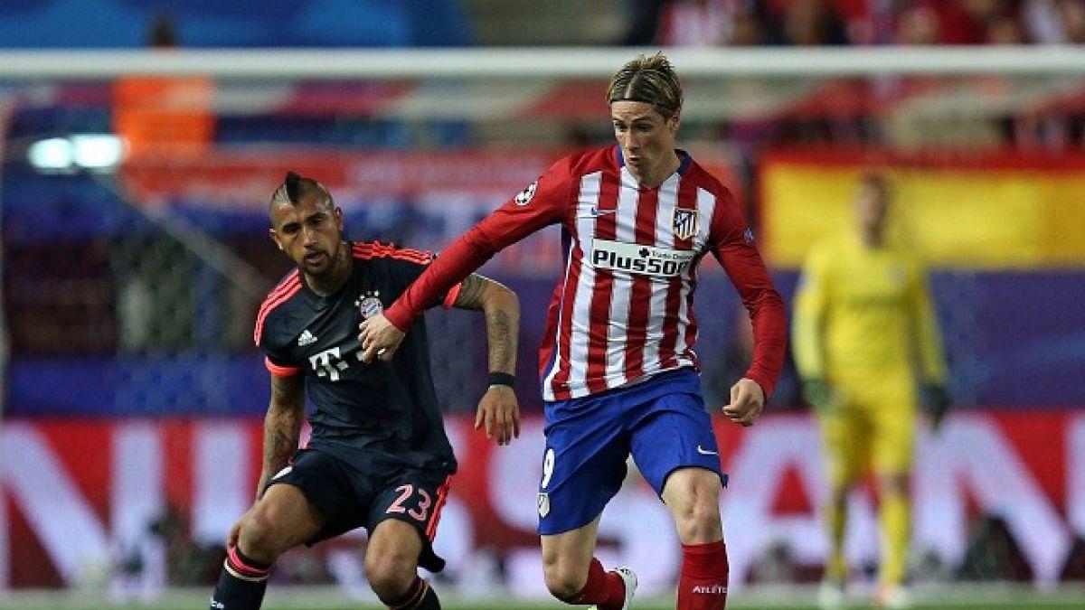 Atlético Madrid da el golpe y con un golazo vence al Bayern de Vidal en Champions