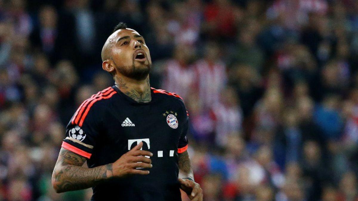 Arturo Vidal prolonga su maldición frente al Atlético de Madrid