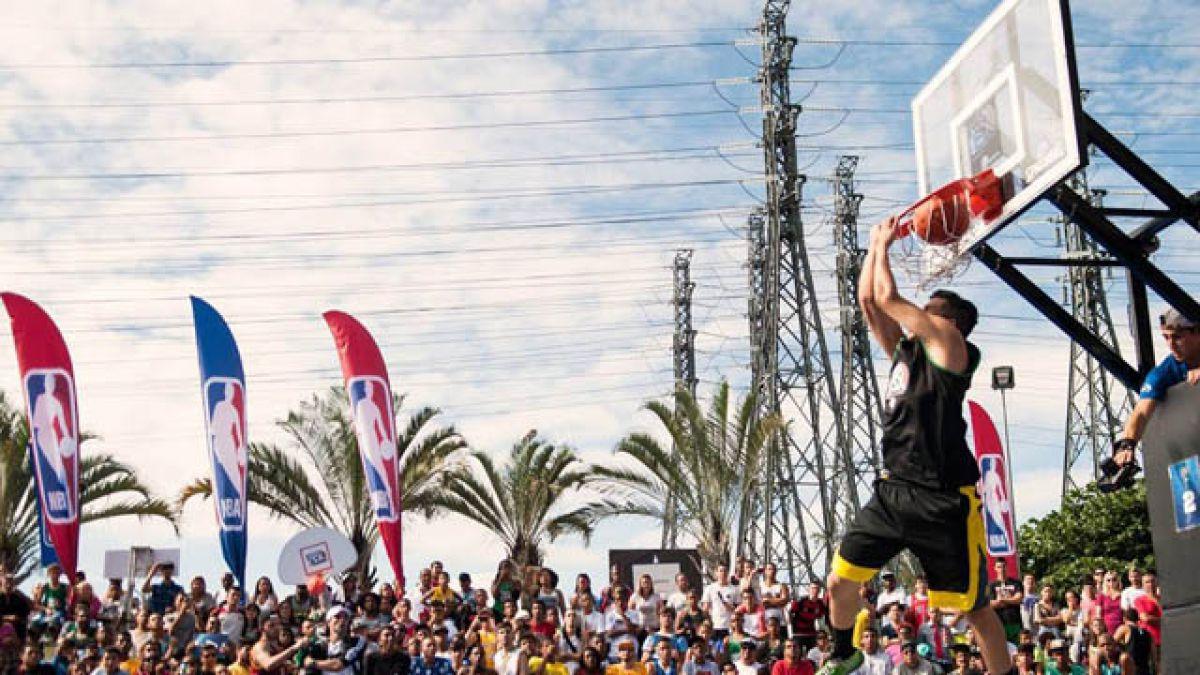 Popular gira NBA3X llega a Chile por primera vez
