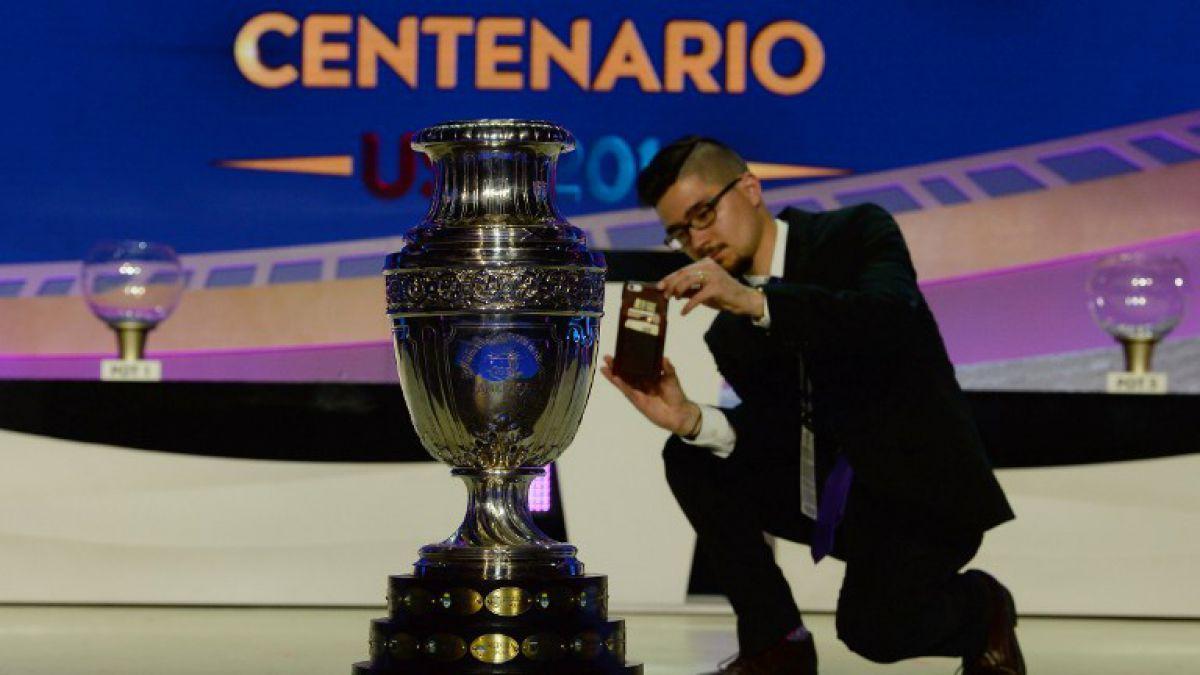 Hoy se presenta el trofeo que recibirá el campeón de la Copa América Centenario