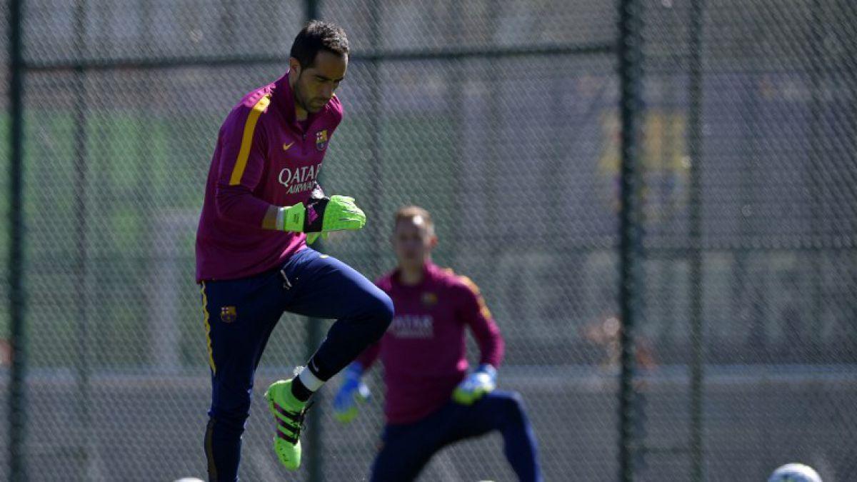 Bravo se refiere a competencia en portería del Barcelona y sus inicios como futbolista