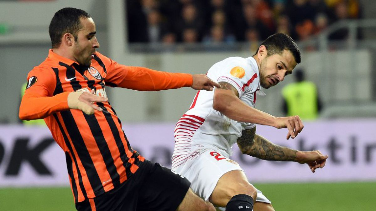 Sevilla logra valioso empate ante Shakhtar por semifinales de Europa League