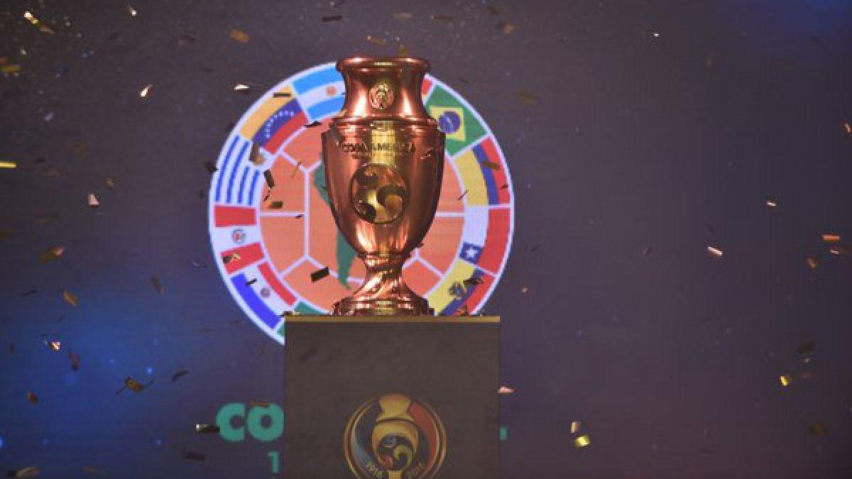"""Presentan en Bogotá trofeo """"especial e inédito"""" de Copa América Centenario"""